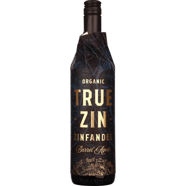 True Zin Zinfandel Organic Barrel Aged 75CL