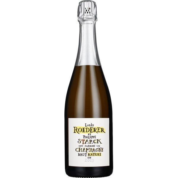 Louis Roederer by Philippe Starck Brut Nature 2009 75CL