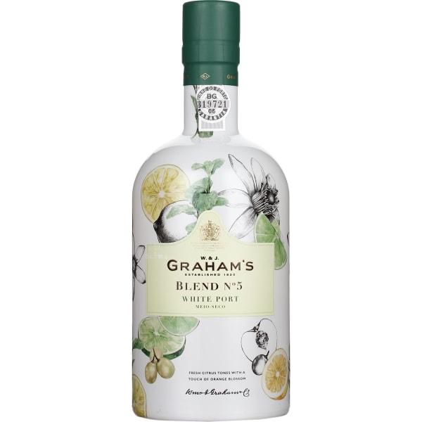 Grahams Port Blend No 5 White 75CL