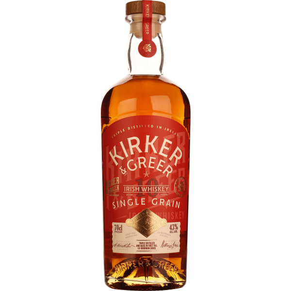 Kirker & Greer 10 years Single Grain 70CL