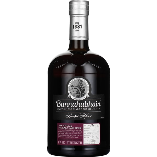 Bunnahabhain 30 years 1988 Marsala Finish 70CL