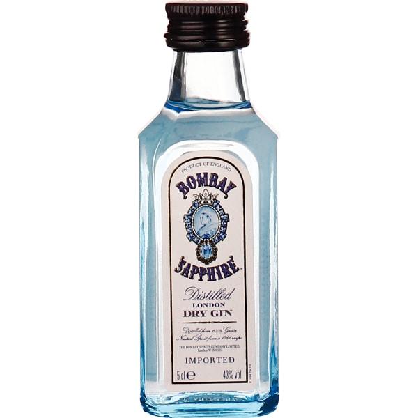 Bombay Sapphire Gin miniaturen 12x5CL