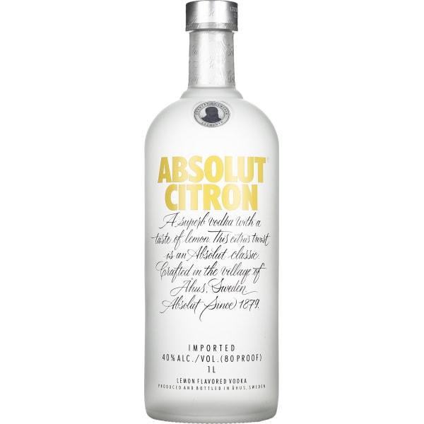 Absolut Citron 1LTR