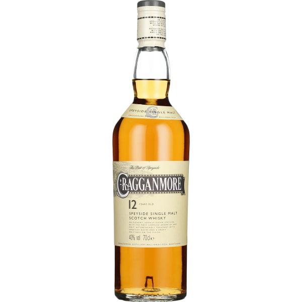 Cragganmore 12 years Single Malt 70CL