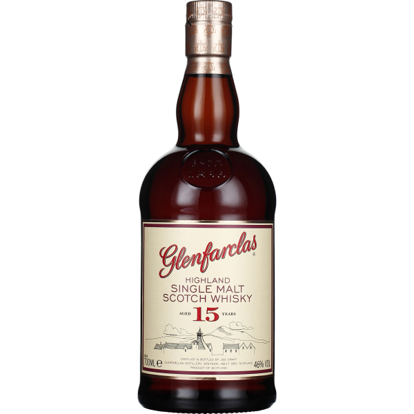 Glenfarclas 15 years Single Malt 70CL