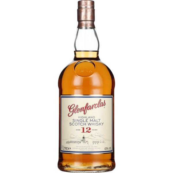 Glenfarclas 12 years Single Malt 1LTR