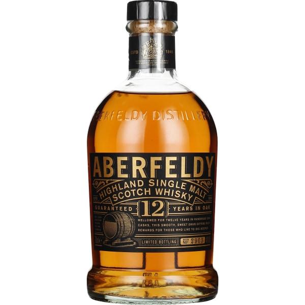 Aberfeldy 12 years Single Malt 70CL