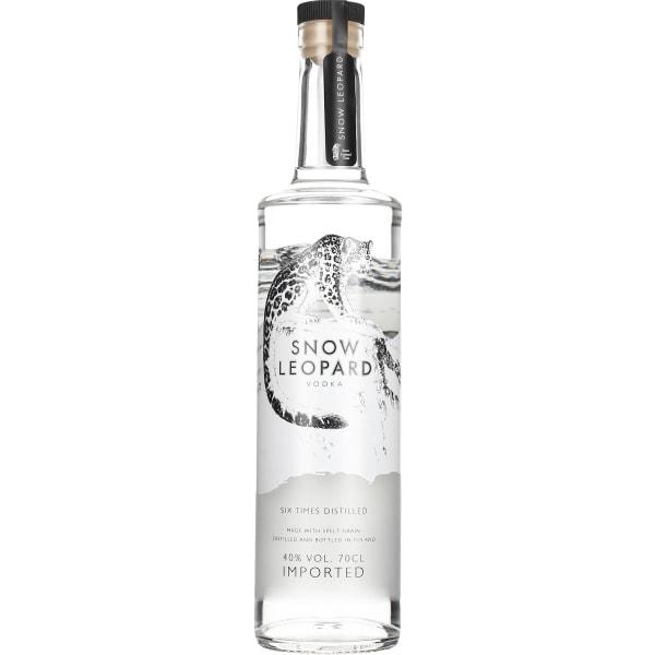 Snow Leopard Vodka 70CL