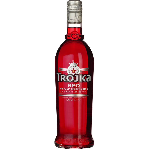 Trojka Vodka Red 70CL
