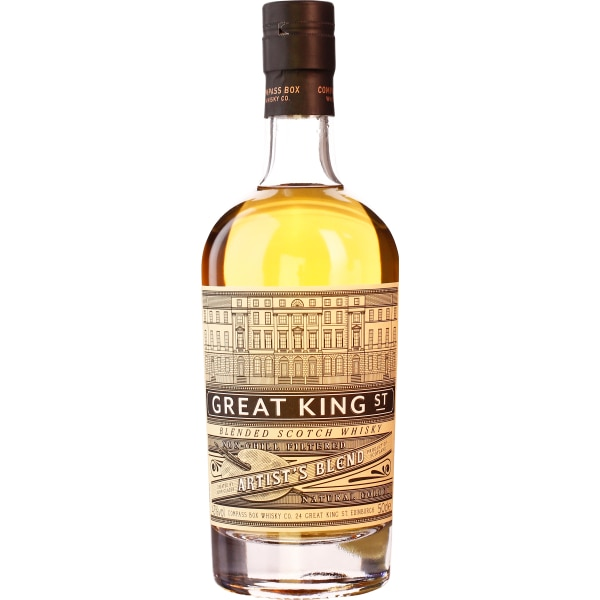 Compass Box Great King Street Artists Blend 50CL