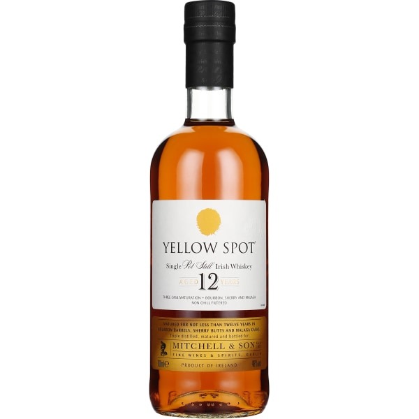 Mitchell & Son Yellow Spot 12 years Single Pot Still 70CL