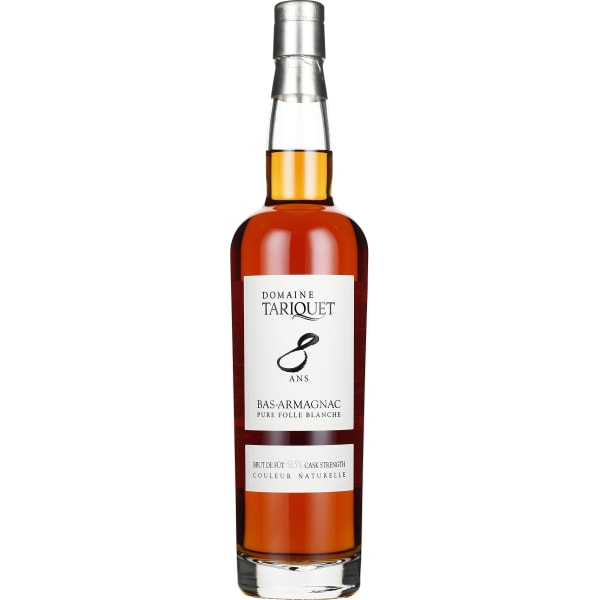 Chateau du Tariquet Armagnac 8 years Folle Blanche 70CL