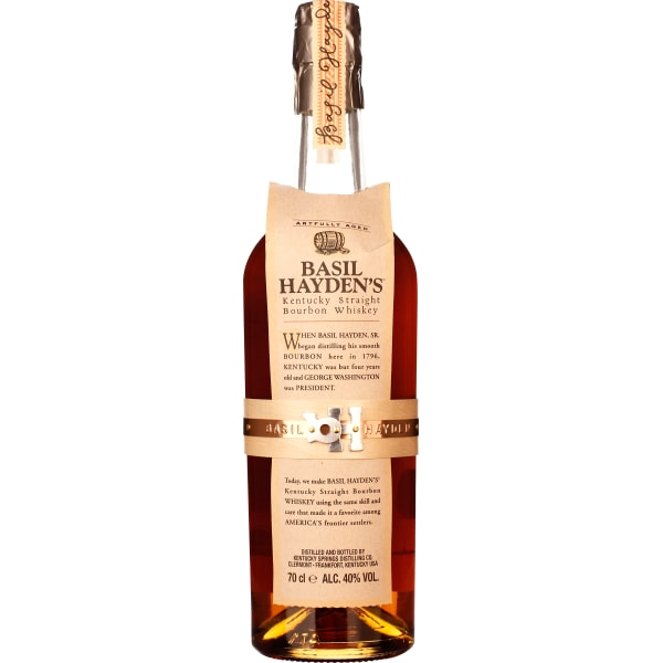 Basil Haydens Kentucky Straight Bourbon 8 years 70CL