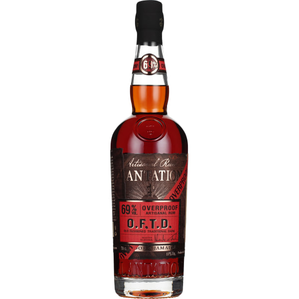 Plantation Old Fashioned Traditional Dark Overproof 70CL