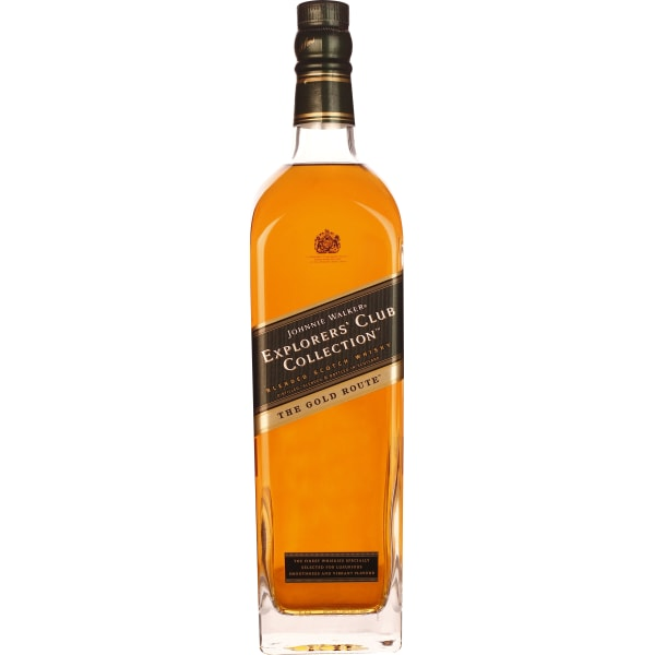 Johnnie Walker The Gold Route Explorers Club Collection 1LTR