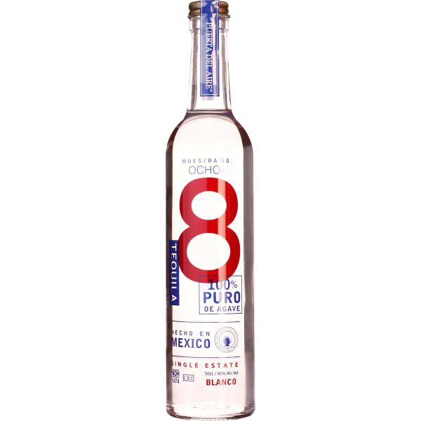Tequila Ocho Blanco 50CL