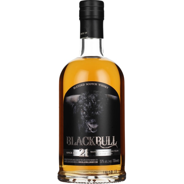 Black Bull 21 years 70CL