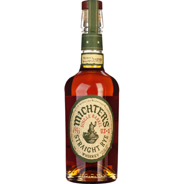 Michters Straight Rye Whiskey 70CL