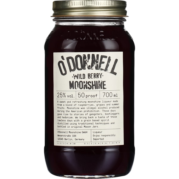 ODonnell Wild Berry Moonshine 70CL
