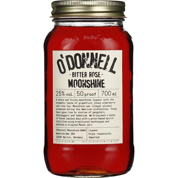 ODonnell Bitter Rose Moonshine 70CL