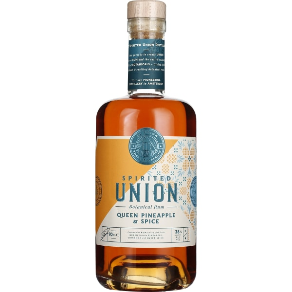 Union Queen Pineapple & Spice Rum 70CL