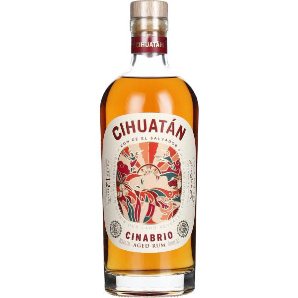 Cihuatan 12 years Cinabrio 70CL
