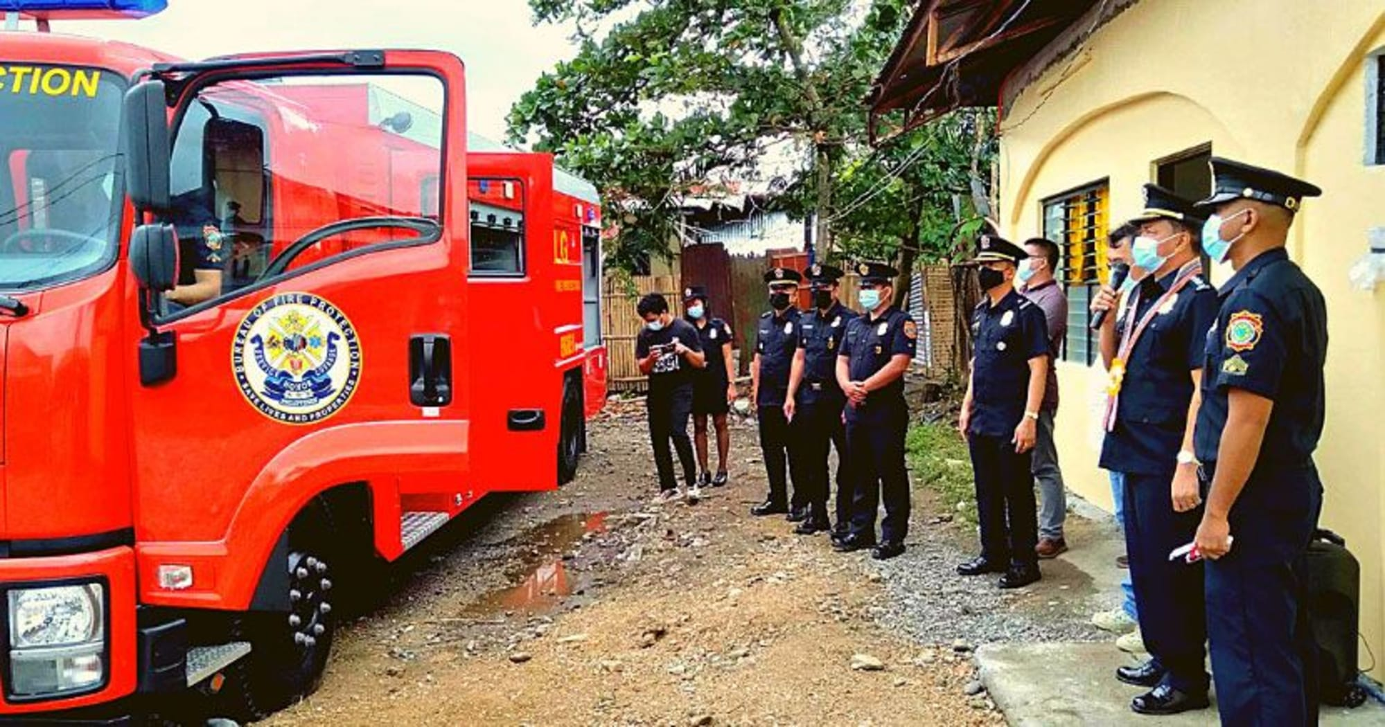 Nabas Newly-activated Fire Station and 2 more soon-to-be activated - BFP AKLAN