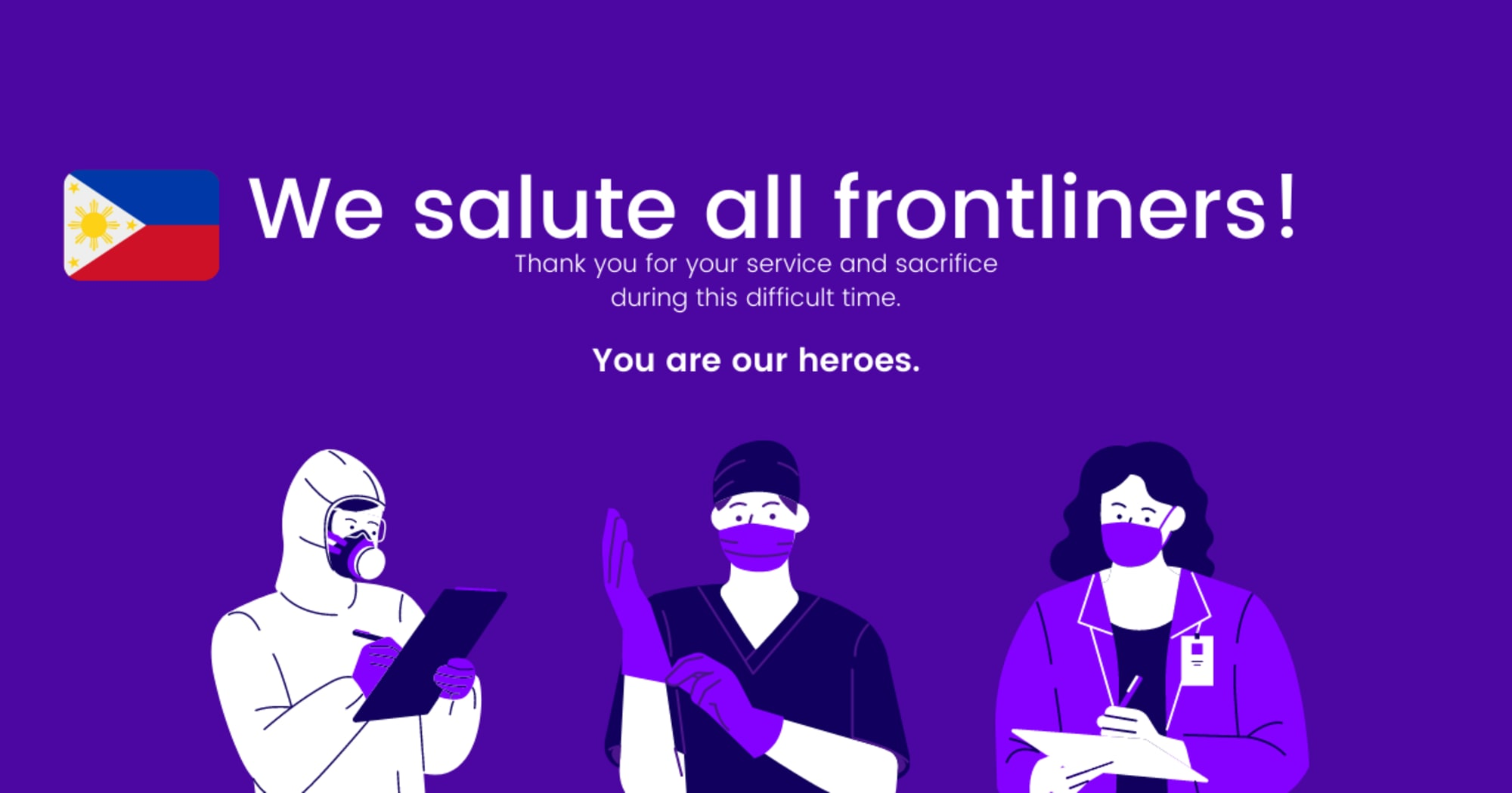 Philippine Frontline Healthcare Workers, First to be Vaccinated
