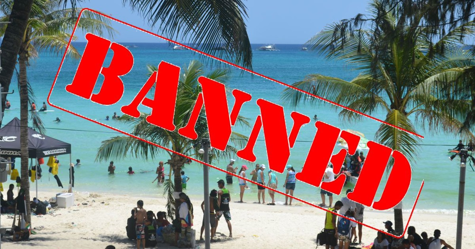 """Resolution passed declaring travelers """"Persona non grata"""" to individuals who fake their way into Boracay - Malay LGU"""