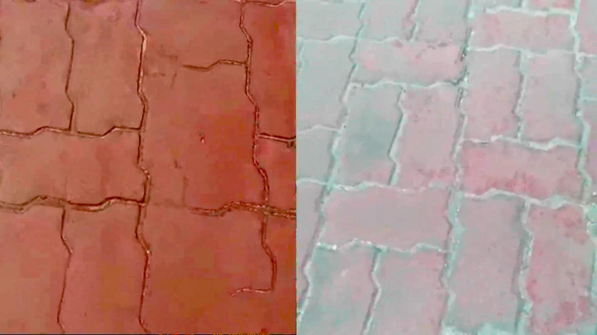 Cut corners in Boracay Sidewalks?