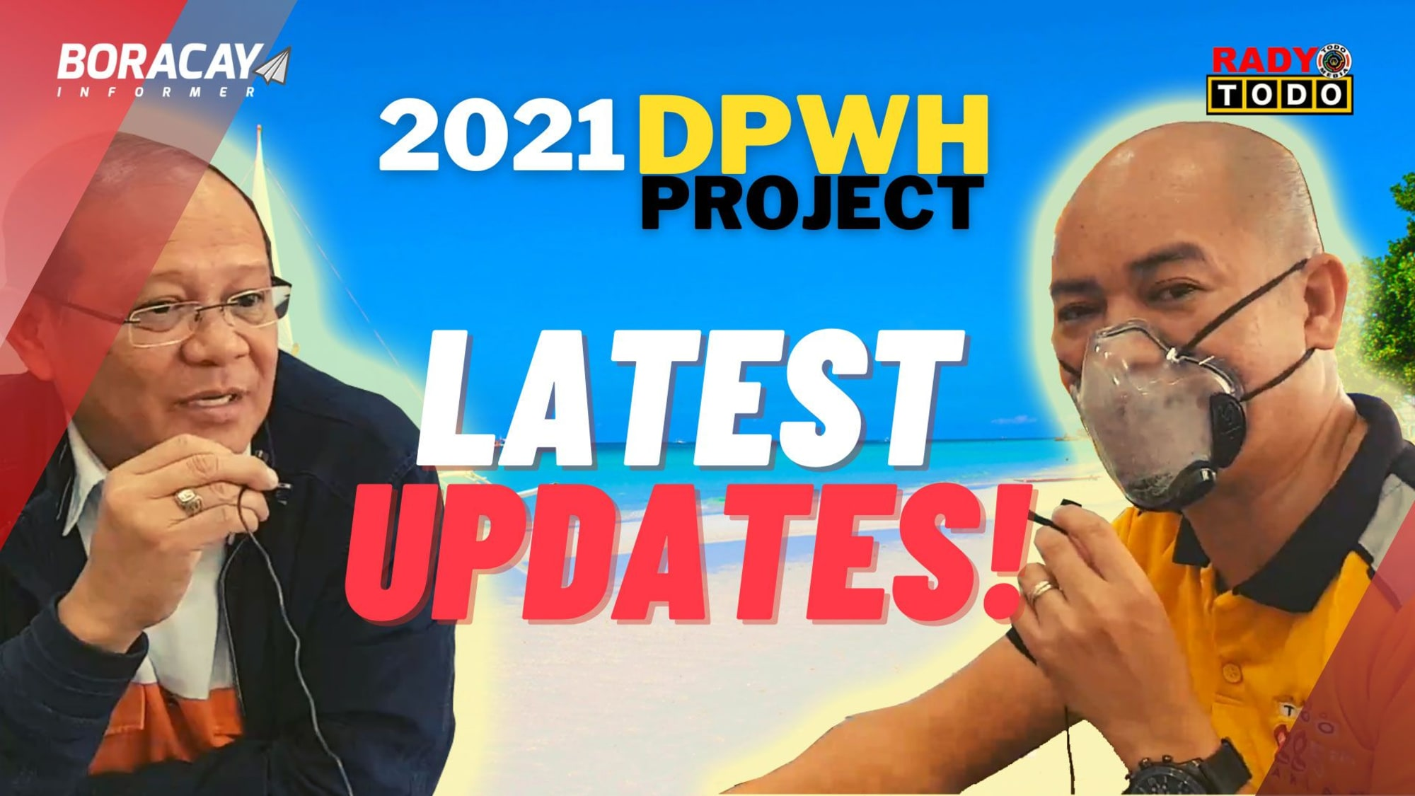 Latest updates on DPWH Projects in Boracay Explained - Asst. Regional Director Fruto