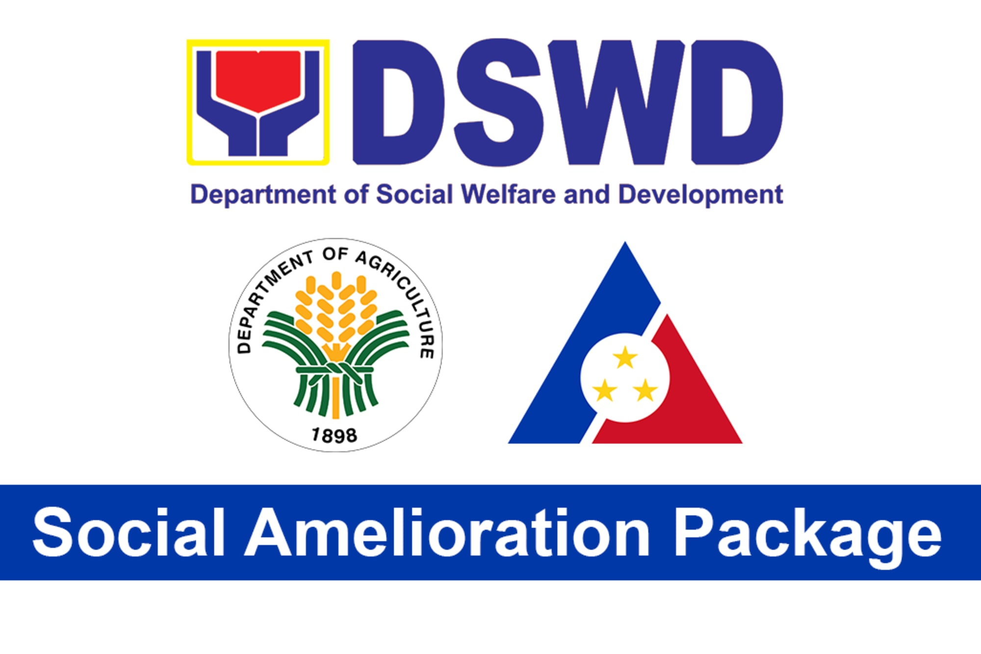 Social Amelioration Package; List of qualified and how to receive