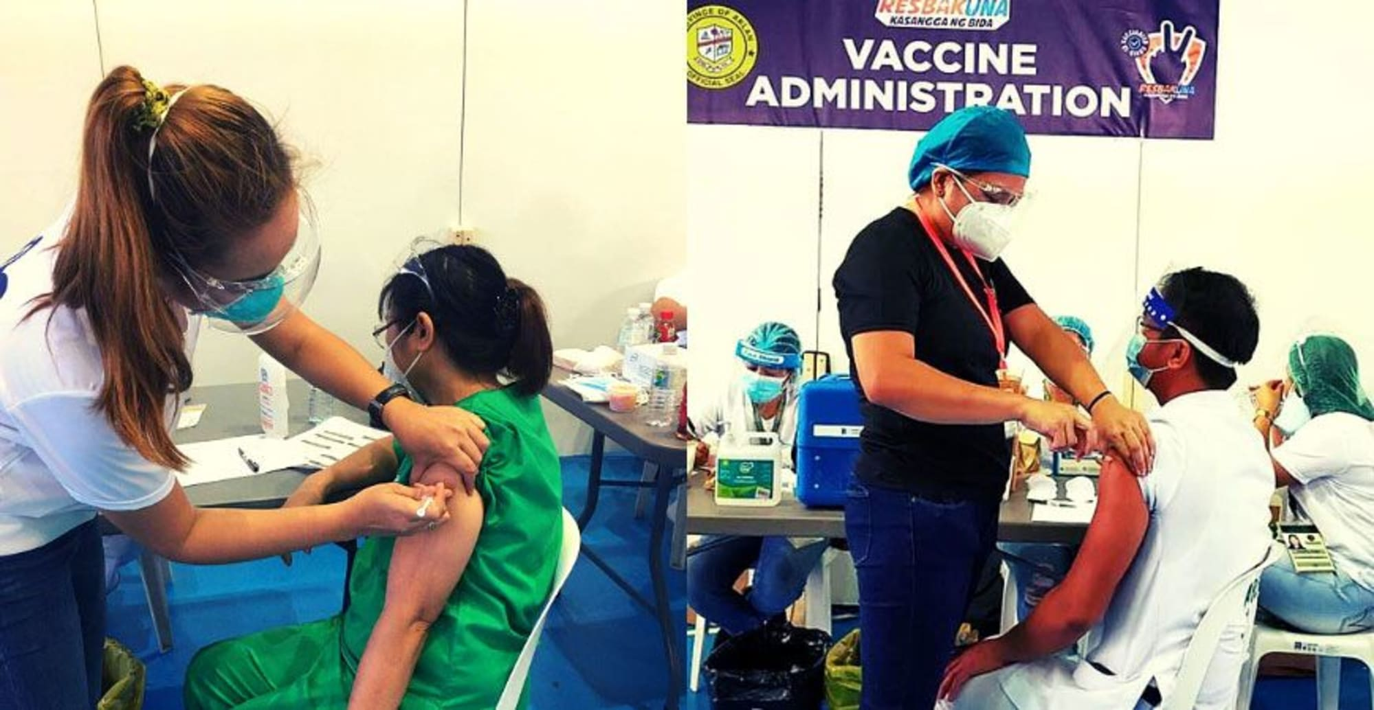 2,420 Sinovac vaccines has been administered to hospital and frontline health care workers in Aklan