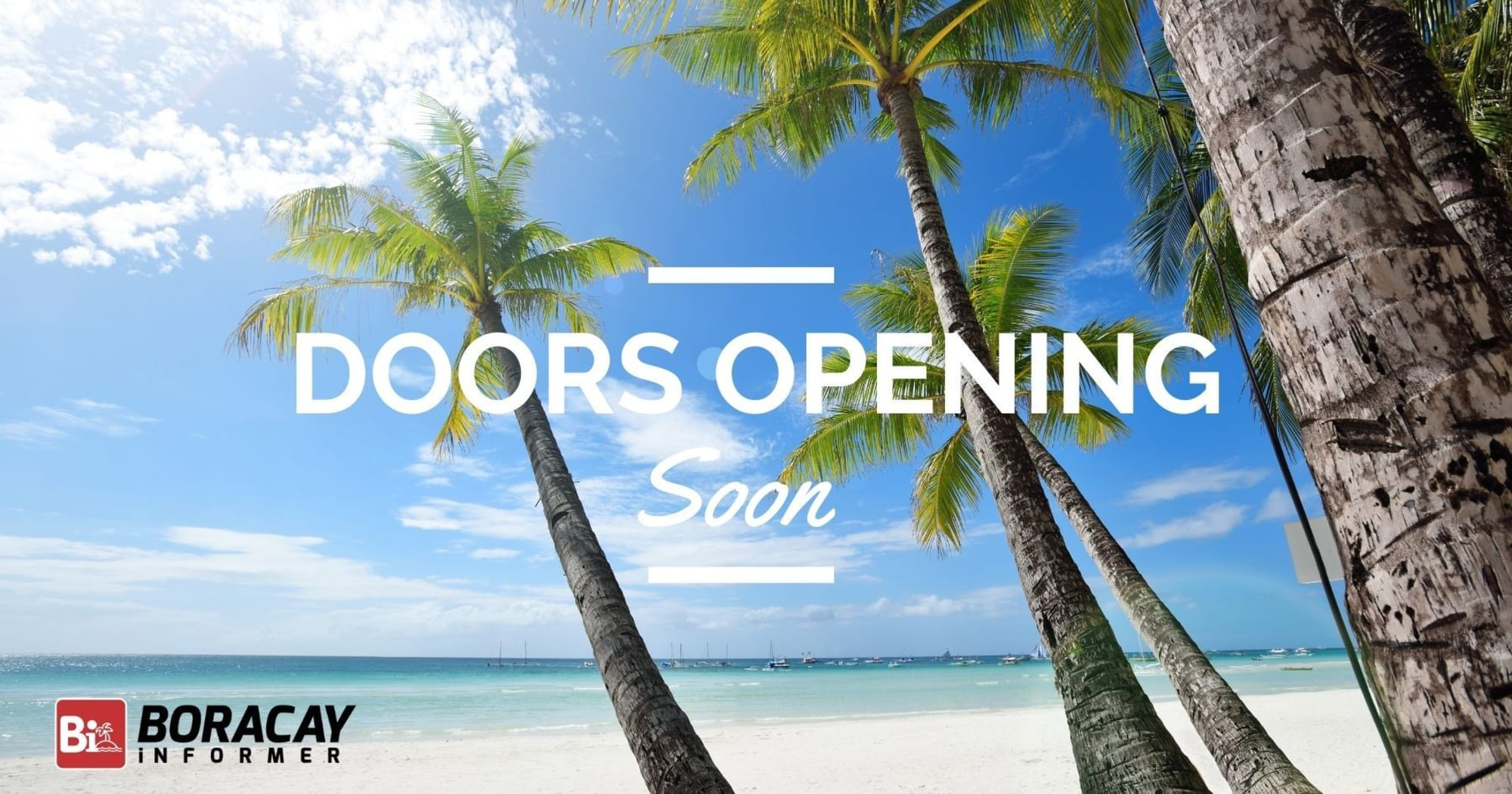 Boracay to Open soon to the rest of the World
