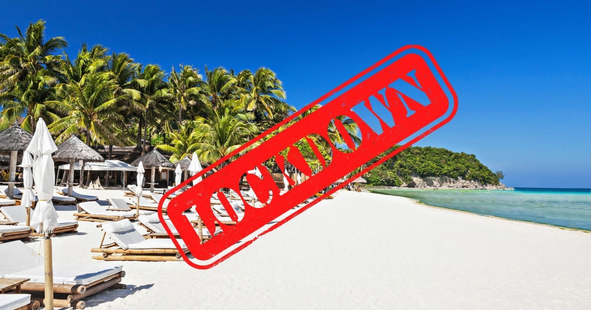 31 Hotels in Boracay are under a Surgical Lockdown starting today March 28