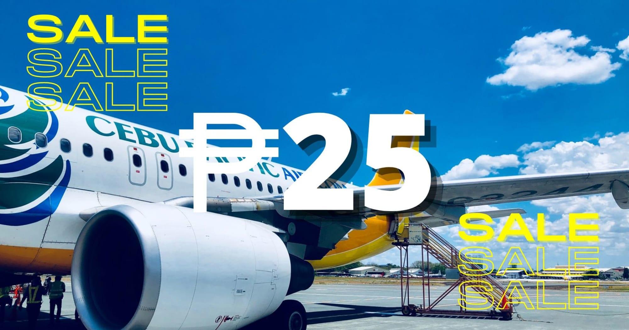 Cebu Pacific announces P25 sale for its 25 anniversary