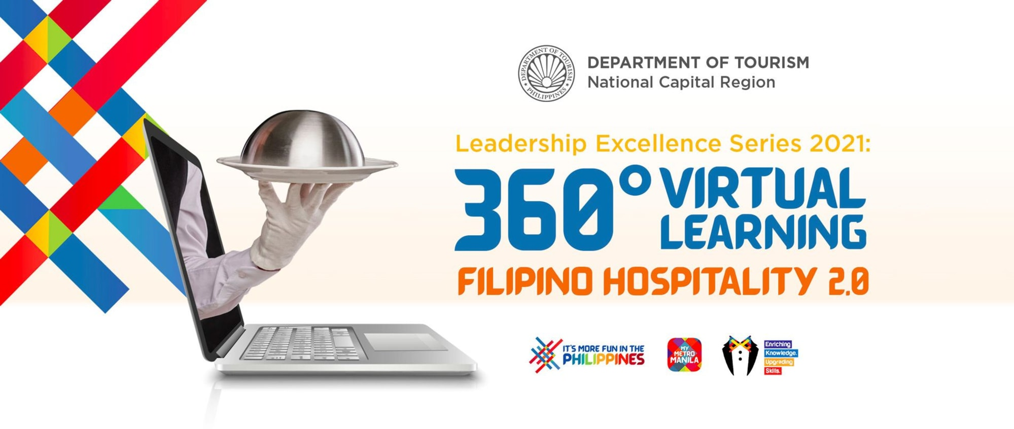 DOT launched their fourth online hybrid training program aims to raise the bar on Filipino Hospitality and Culinary