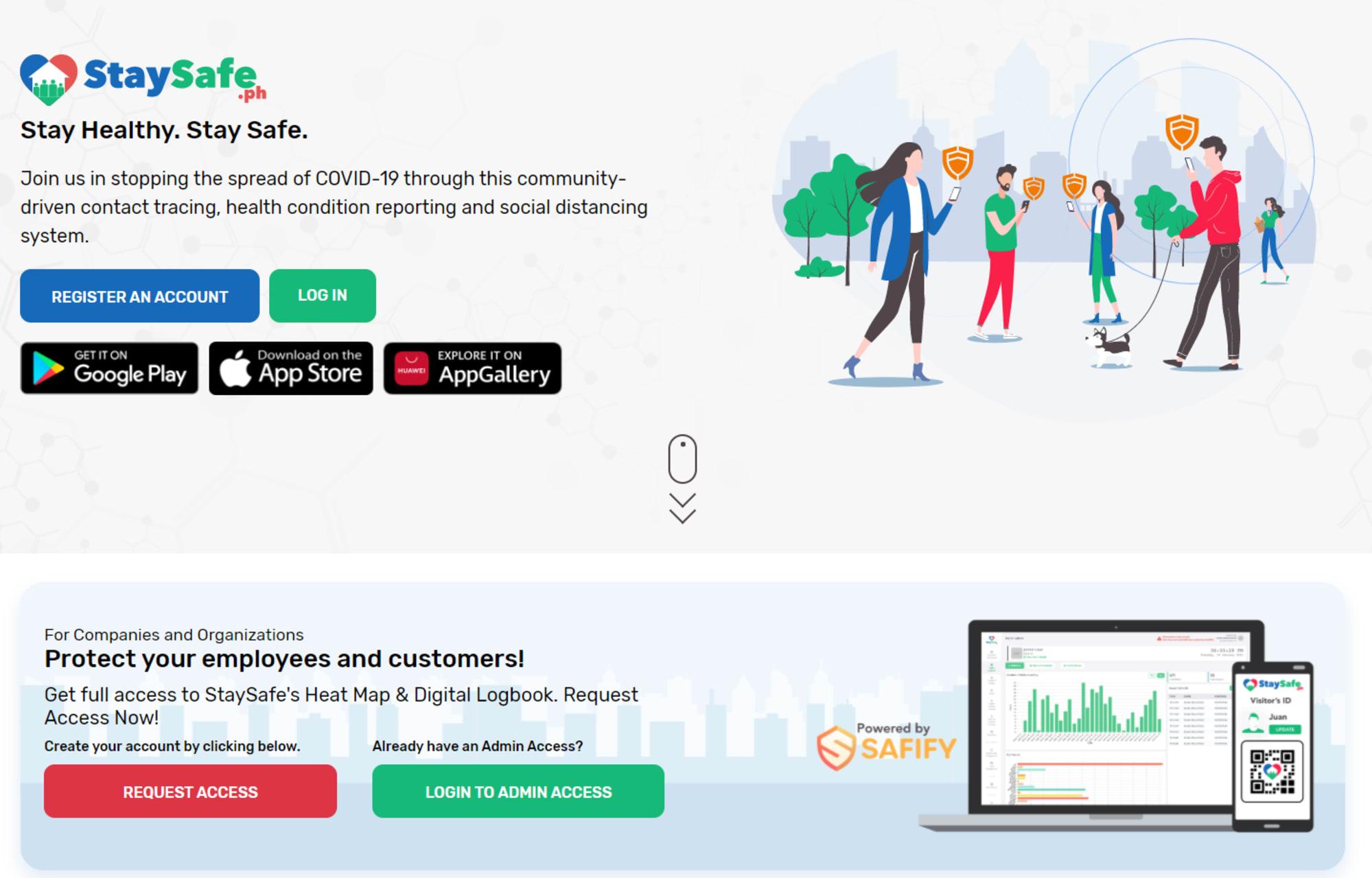 DILG advised the LGUs use the new StaySafe App