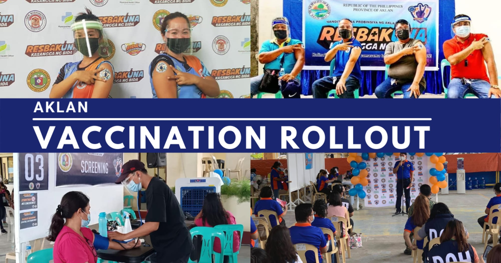 Vaccination Rollout finally begins in several towns on Aklan