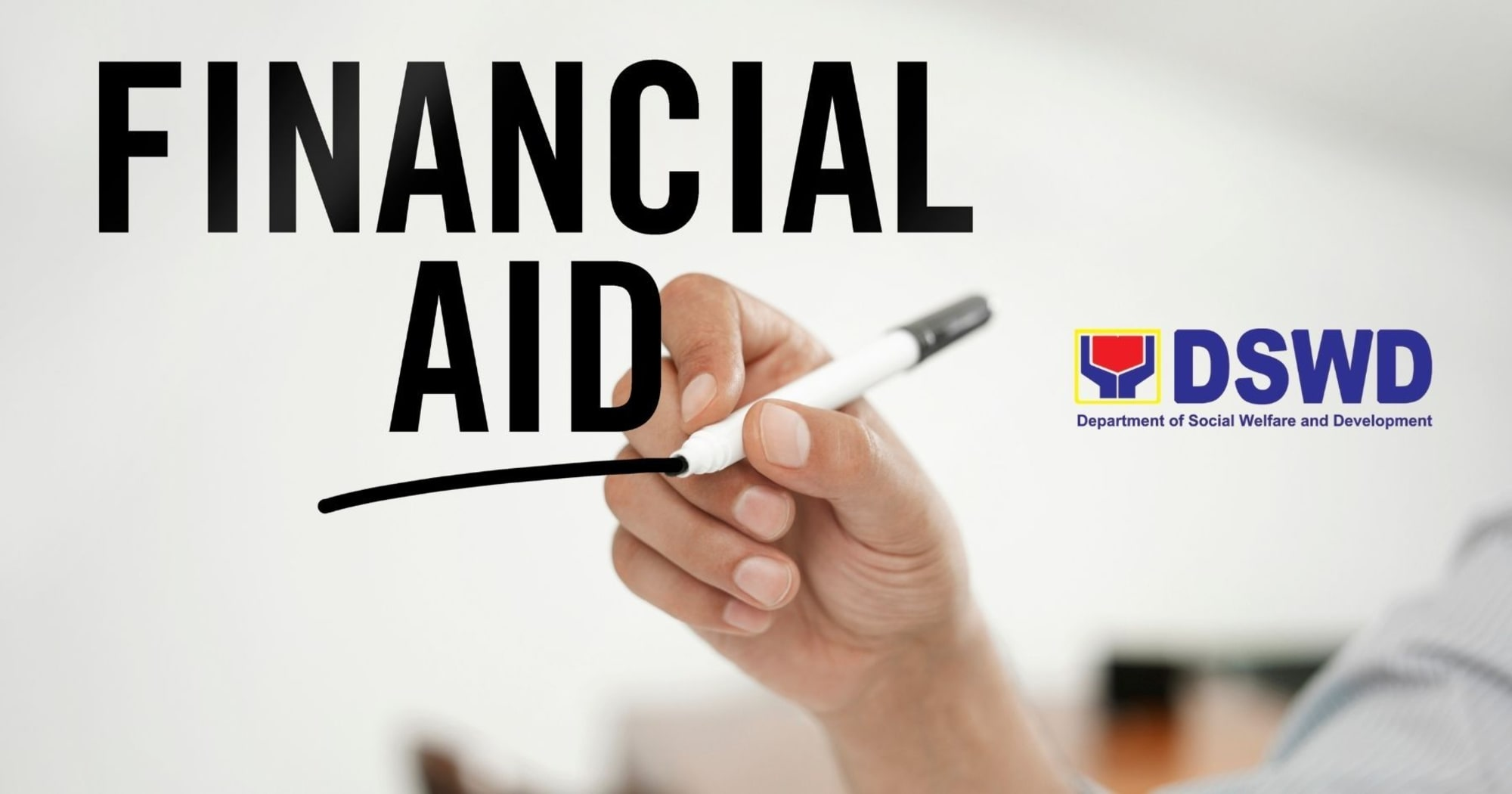 The DSWD will aid the LGUs in handling Financial aid