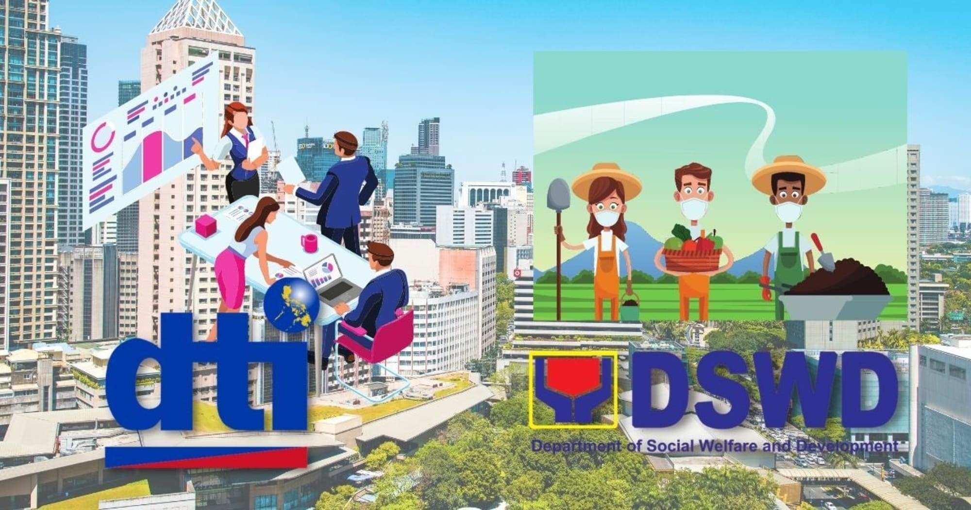 DTI program CARES ₱3.3 billion loans to help MSMEs and DSWD LAG released ₱138.15 million for livelihood assistance