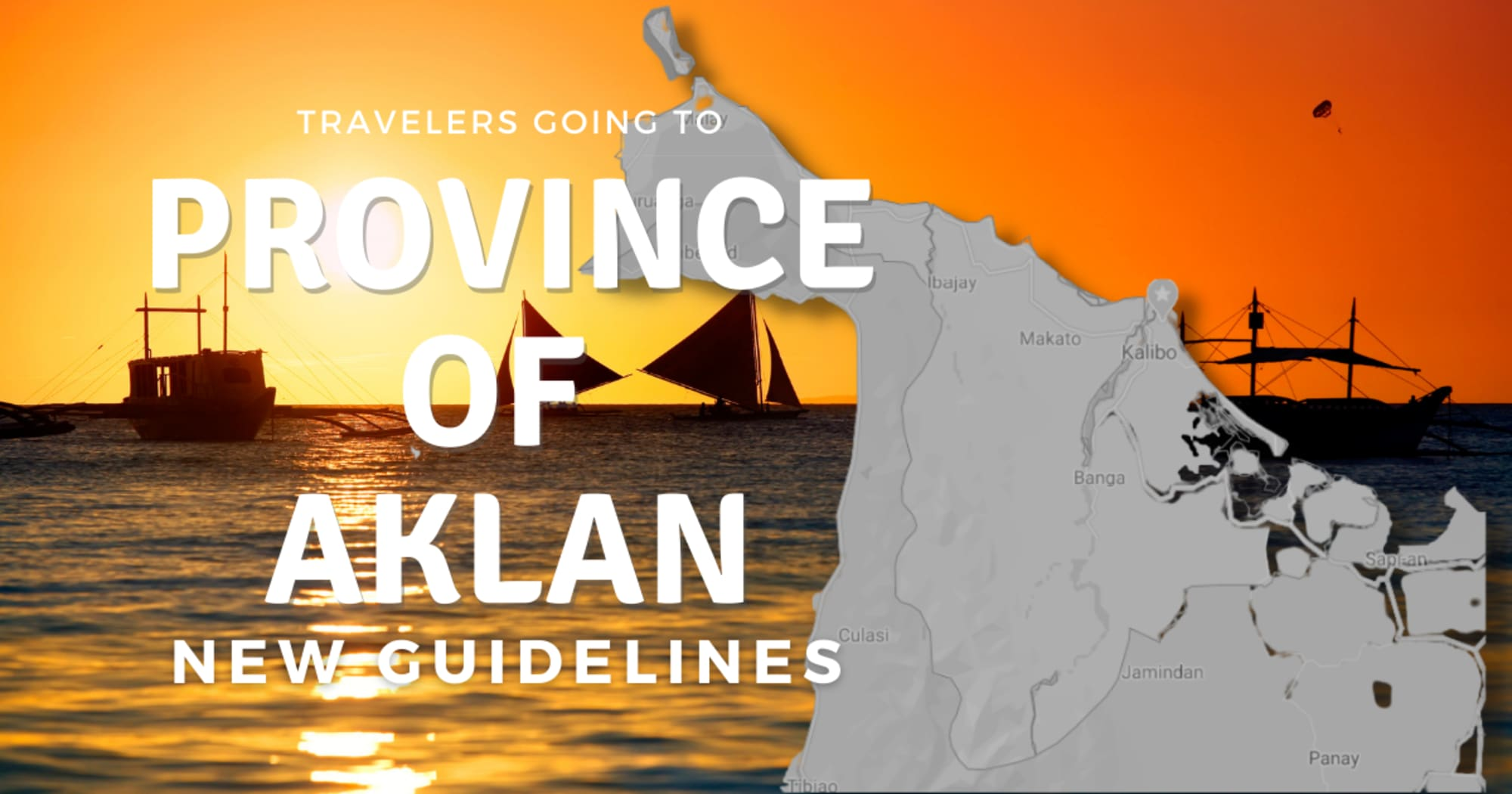 New Guidelines for Travelers going to Aklan Province