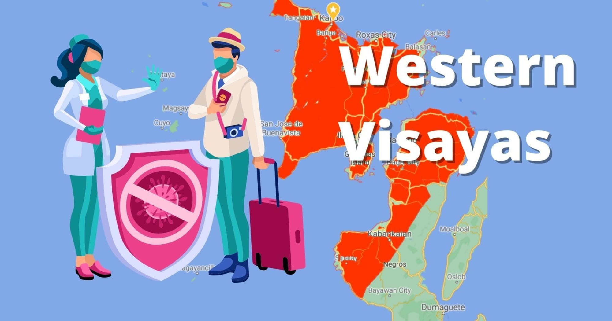 Western Visayas temporarily restricts their borders