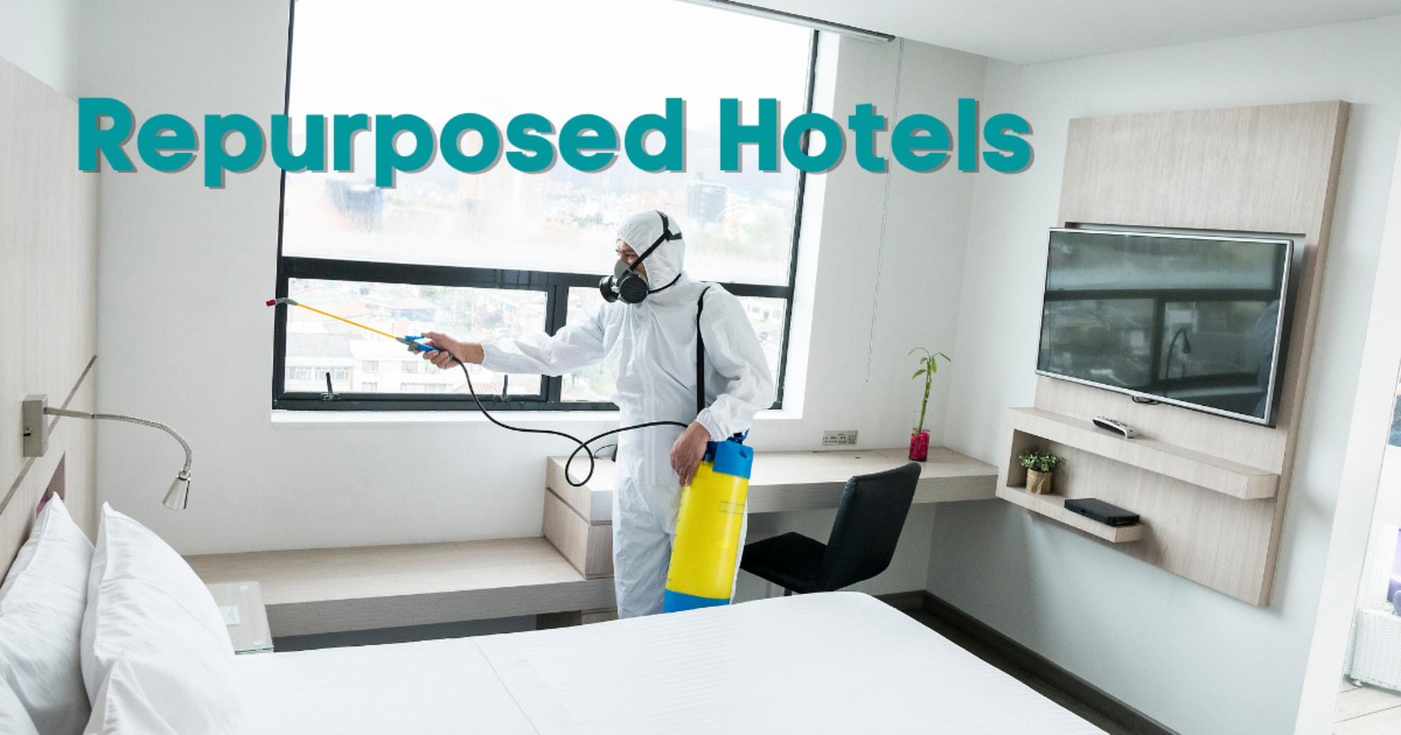 DOT lauds repurposed hotels, calls for 'Bayanihan' vs Covid
