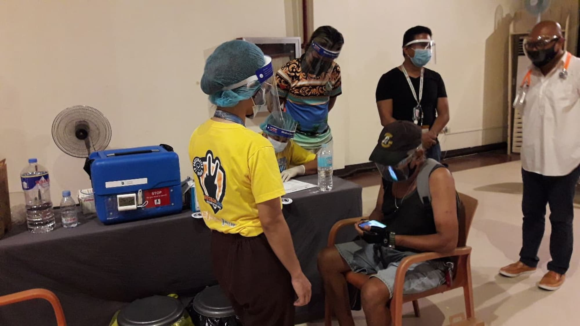 Boracay Island starts its community vaccination roll-out today