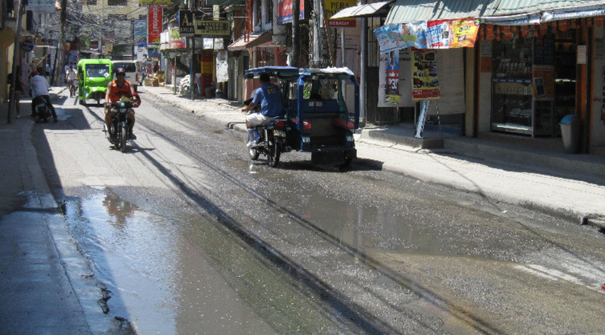 Monitoring of illegal sewage lines ongoing in Boracay
