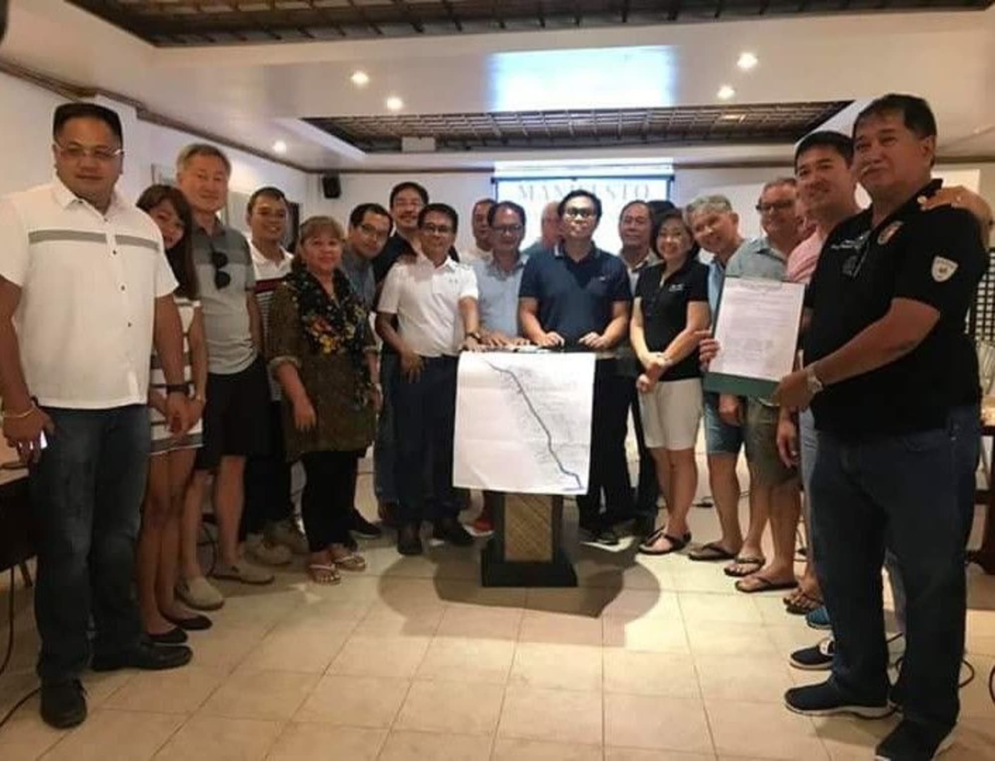 Stakeholders sign manifesto to support Boracay rehab
