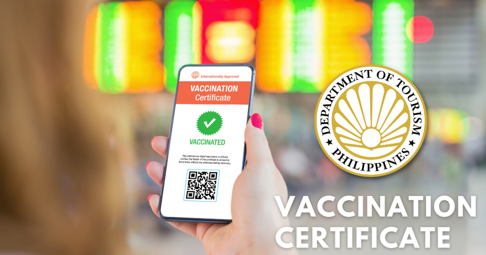 DOT is searching for ways to authenticate vaccine certificates at the airports