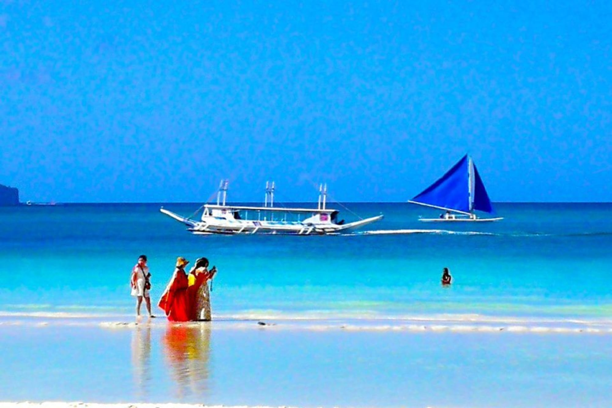 Chinese top foreign visitors to Boracay