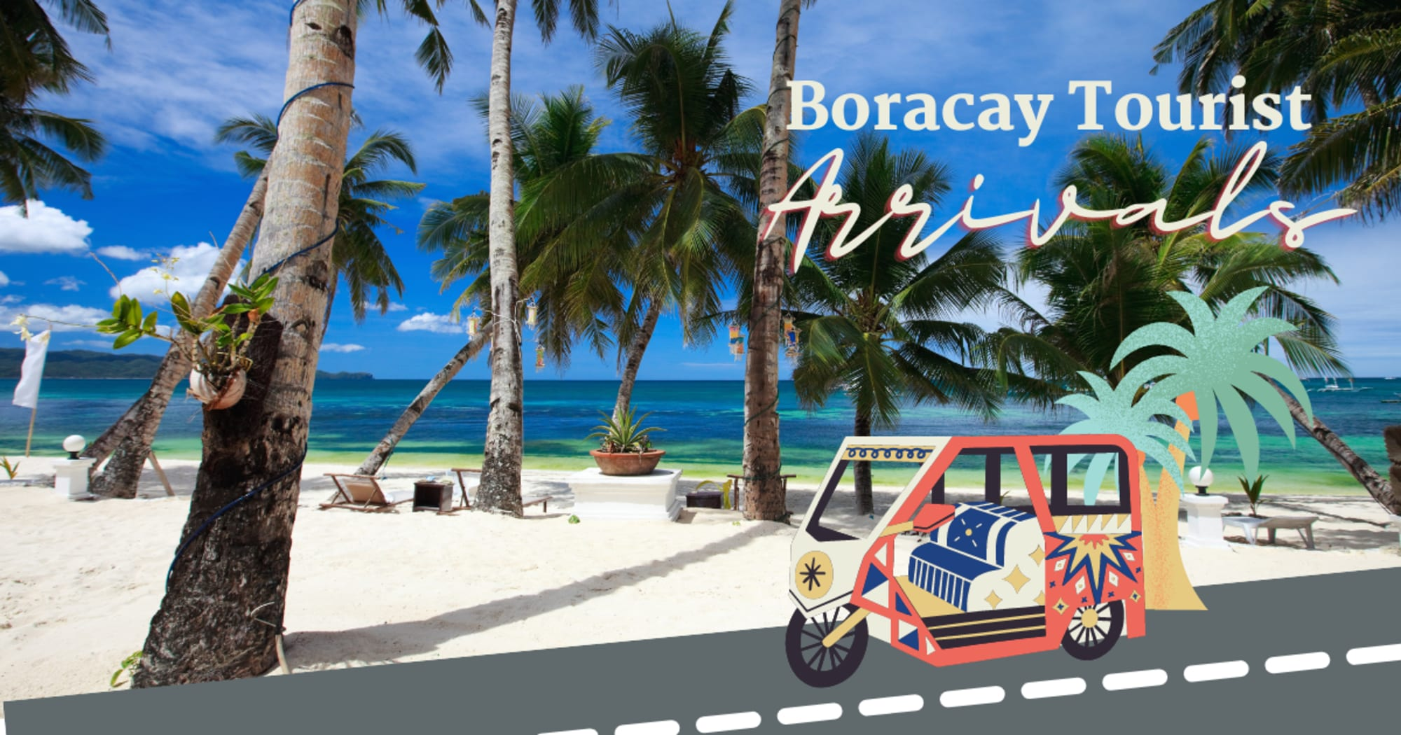 In just 20 days more than 16k tourists flocks Boracay Island